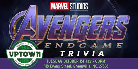 Avengers:Endgame Trivia at Uptown Brewing Company tickets