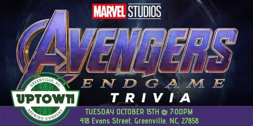 Avengers:Endgame Trivia at Uptown Brewing Company