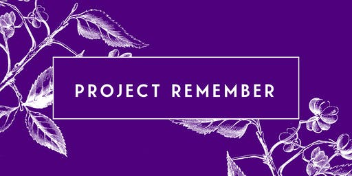 Jus BeCuz Presents: The 2nd Annual Project Remember Charity Gala