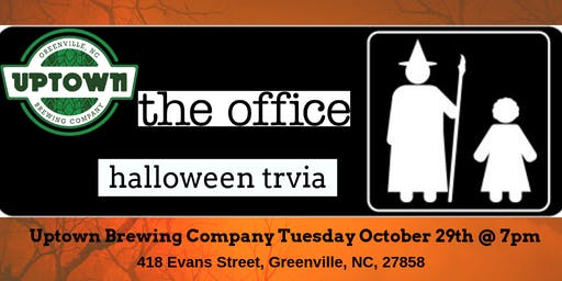 The Office *HALLOWEEN EPISODES* Trivia at Uptown Brewing Company