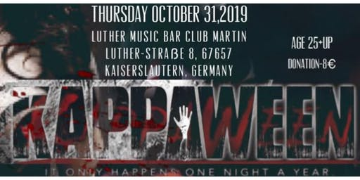 Germany Alumni Presents: KAPPAWEEN  2019