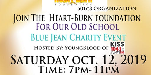 Heart-Burn Foundation's Old School Blue Jean Charity Event Hosted By: YoungBlood of Kiss 104.1FM