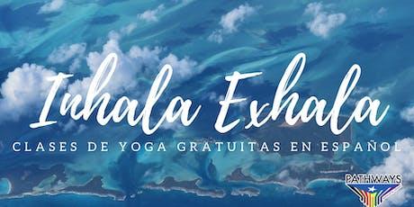Inhala Exhala: Septiembre tickets