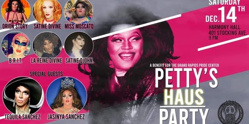 Petty's Haus Party - Benefit for GR Pride Center