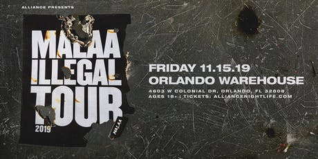 Alliance Presents: Malaa - Illegal Warehouse tickets