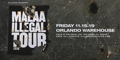 Alliance Presents: Malaa - Illegal Warehouse