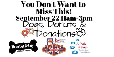 Dogs Donuts and Donations - Adoption Event