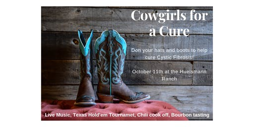 Cowgirls for a Cure (for Cystic Fibrosis)
