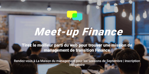 Meet-up Adequancy pour les managers indépendants Finance - 24/09