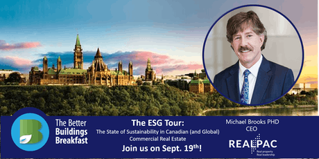 The ESG Tour:  State of Sustainability in Canadian  Commercial Real Estate tickets