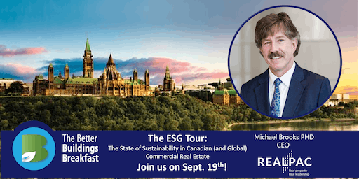 The ESG Tour:  State of Sustainability in Canadian  Commercial Real Estate
