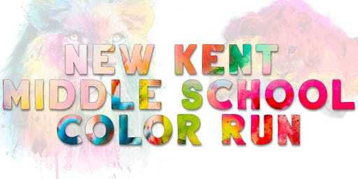 New Kent Middle School PTO Color Run