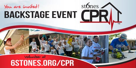 6 Stones CPR Backstage - October 18th, 2019 tickets