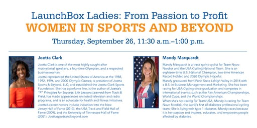 LaunchBox Ladies Presents: Women in Sports and Beyond