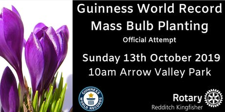 Guinness World Record Attempt Redditch tickets