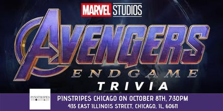 Avengers: Endgame Trivia at Pinstripes Chicago tickets