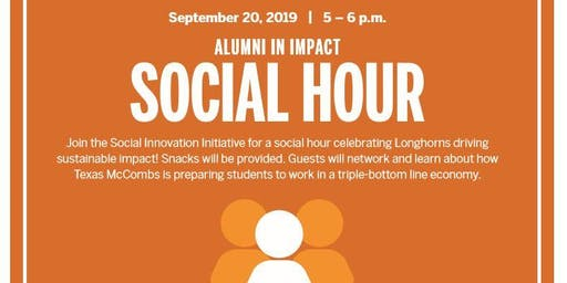 Alumni in Impact Social Hour