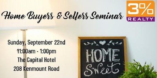 3% Realty | Home Buyers & Sellers Seminar
