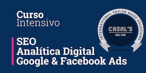 Curso Avanzado: SEO, Analítica Digital y Publicidad de Pago (72H FORMACIÓN)
