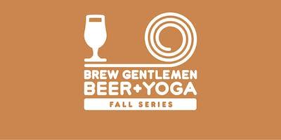 Beer + Yoga: Fall Series
