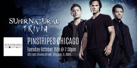 Supernatural Trivia at Pinstripes Chicago tickets