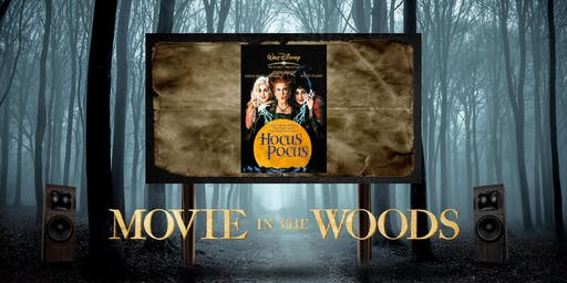 Movie in the Woods, Hocus Pocus, Houston  10-19-2019