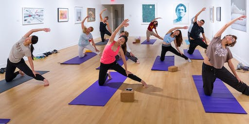 Yoga at the USC Fisher Museum of Art