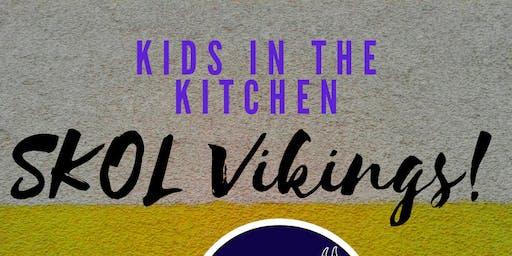 """""""SKOL Vikings"""" Kids in the Kitchen"""
