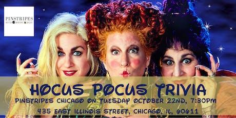 Hocus Pocus Trivia at Pinstripes Chicago tickets
