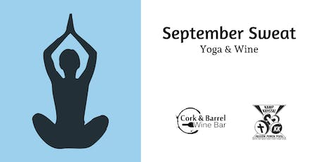 September Sweat: Yoga and Wine tickets