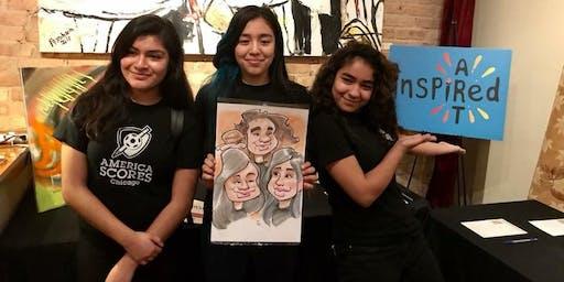 America SCORES Chicago's Inspired Art 2019