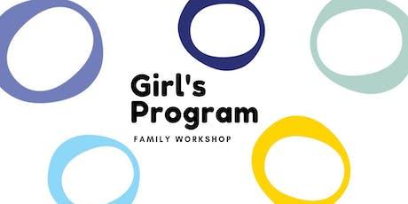 Ecole Edwards Girl's Program: Family Workshop- Program Tools tickets
