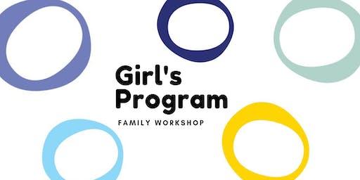 Ecole Edwards Girl's Program: Family Workshop- Program Tools