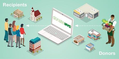 donateNYC Food Portal Neighborhood Meet and Greet tickets