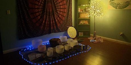 Restorative Sound Bath with CBD (optional free samples) tickets