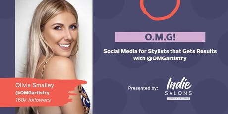 O.M.G.!  Social Media for Stylists that Gets Results tickets