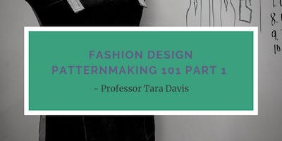 Fashion Design Pattern making 101 Part 1