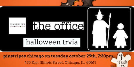 The Office Halloween Episodes Trivia at Pinstripes Chicago tickets