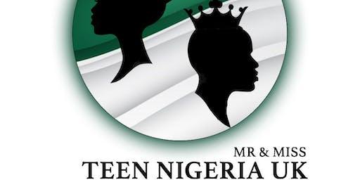Mr & Miss Teen Nigeria UK-  Stall Pass