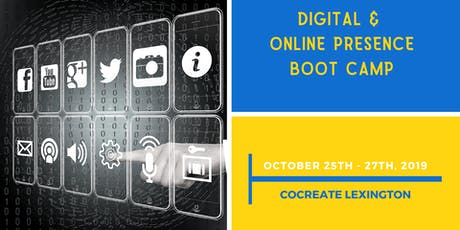 Digital & Online Presence Boot Camp tickets