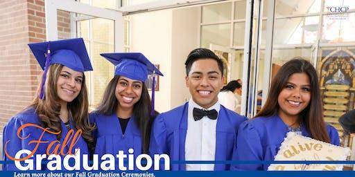 CHCP Fall Graduation Ceremony
