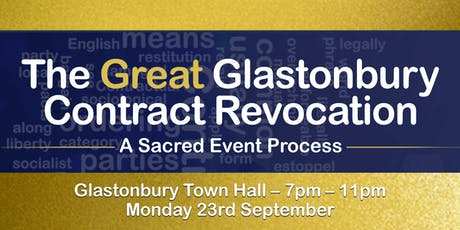 The Great Glastonbury Contract Revocation tickets
