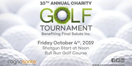 Cognosante 10th Annual Charity Golf Tournament tickets