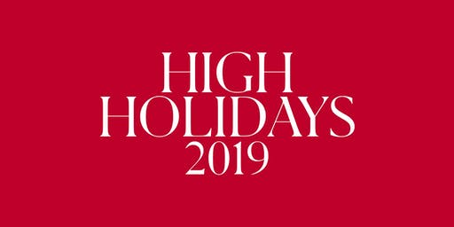 LA High Holidays 2019