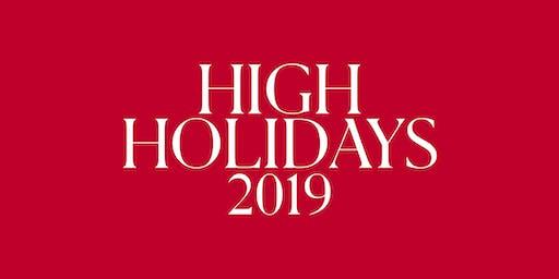 LA High Holidays 2019
