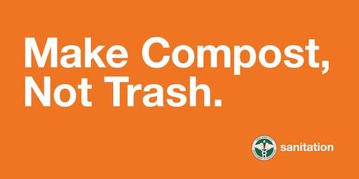 Volunteer Training for Make Compost, Not Trash - Q2
