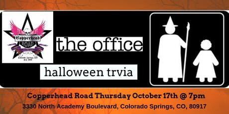 The Office *HALLOWEEN EPISODES* Trivia at Copperhead Road Bar & Nightclub tickets