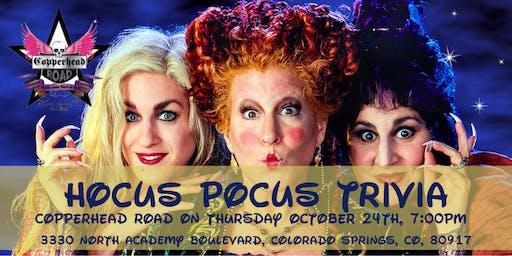 Hocus Pocus Trivia at Copperhead Road Bar & Nightclub