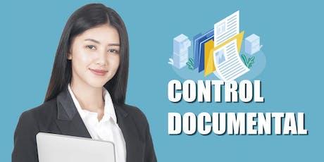 Curso de Gestión y Control Documental entradas