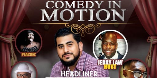 "TeaKakez Comedy Presents ""Comedy in Motion"""